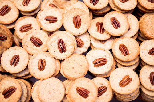 pekanová sušenka