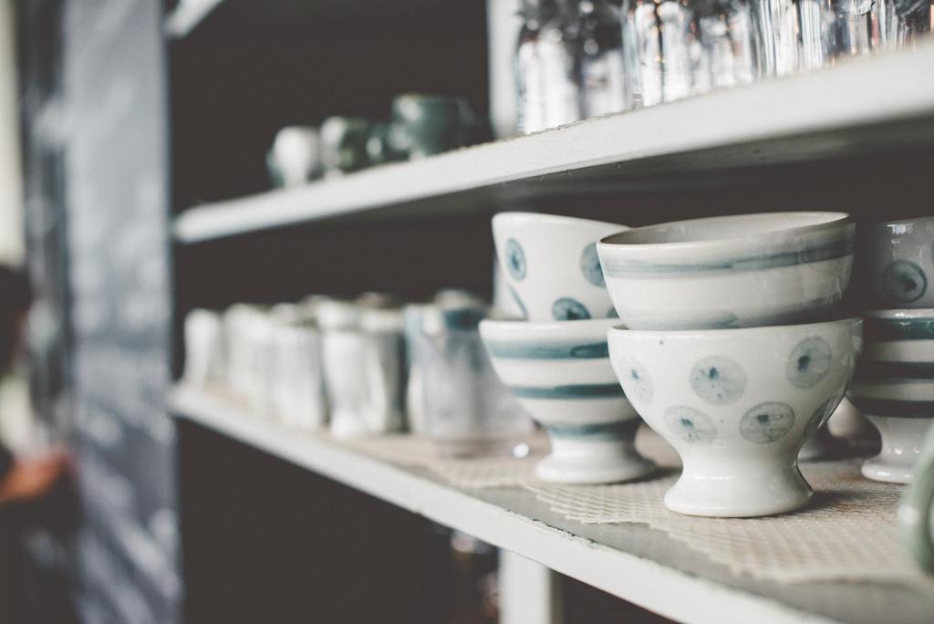 modrobílý porcelán mamacoffee