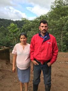 farmáři El Roble Nikaragua